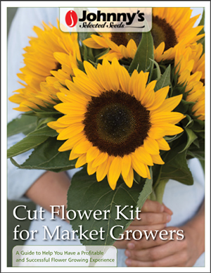 In their first season, the Williamses ordered Johnny's Cut Flower Kit for Market Growers