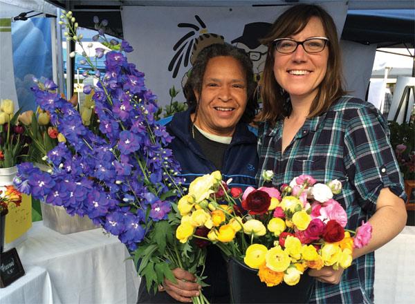 Karen Mimo Davis & Miranda Duschack - Urban Buds Farm