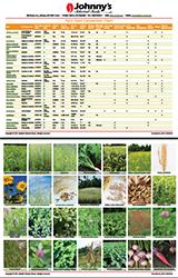 Cover Crop Comparison Chart