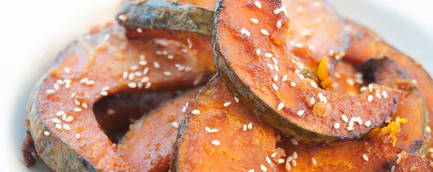 Savory-sweet kabocha squash
