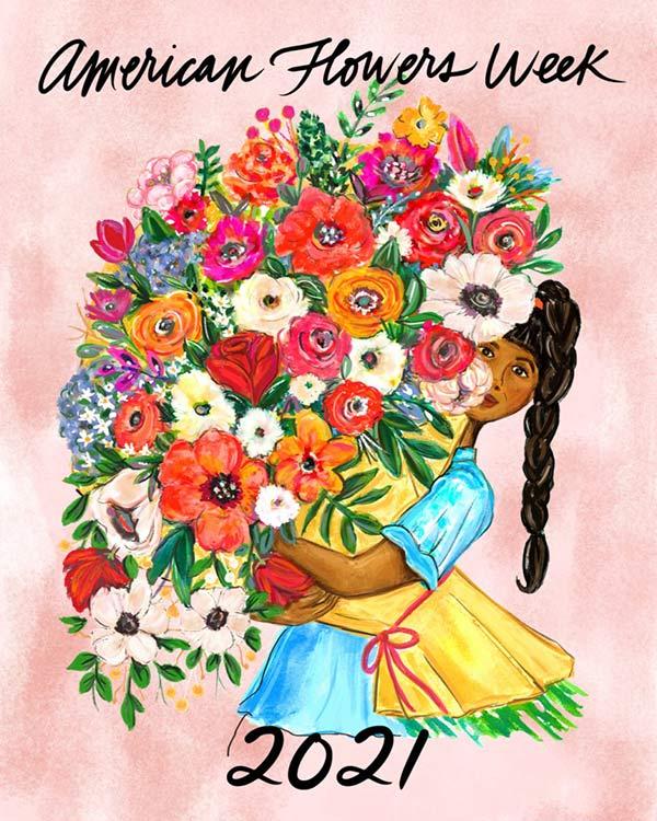 Join us in celebrating American Flowers Week!