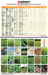 Cover Crop Comparison Chart