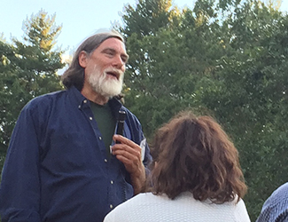 Speakers included organic visionary Jim Gerritsen of Wood Prarie Farm