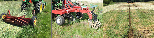 Equipment on hand will dictate your cover-cropping options.