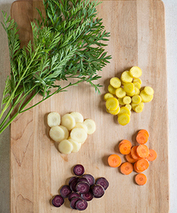 Choose from a Palette of Specialty Carrots