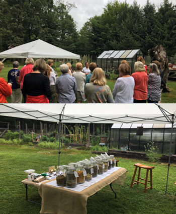 Farmer-florist Xenia D'Ambrosi offers workshops in Pound Ridge, NY