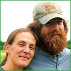 Daniel Price and Ginger Dermott