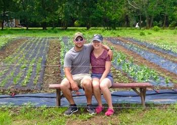 Bluegreen Gardens owners Mike & Elizabeth Zawislak met while working at Longwood Gardens.