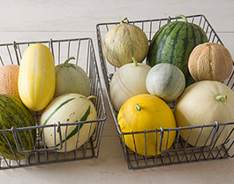 Mixed Melon Baskets